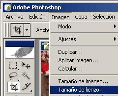 Cómo modificar el tamaño del lienzo con Photoshop