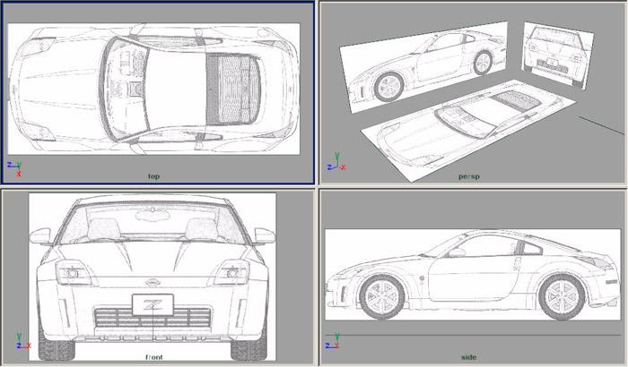Descubre cómo crear un modelo Nissan 350 Z