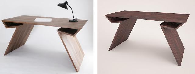 3ds max: Modelando mesa de diseño.