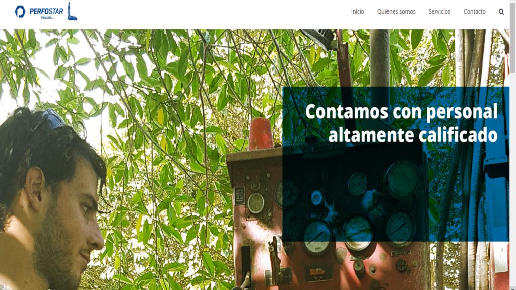 Proyecto: Página web para la empresa Perfostar Panamá