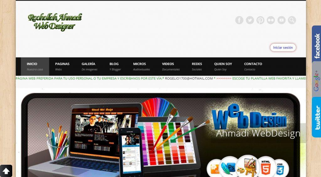 Proyecto: Ahmadi Web Design