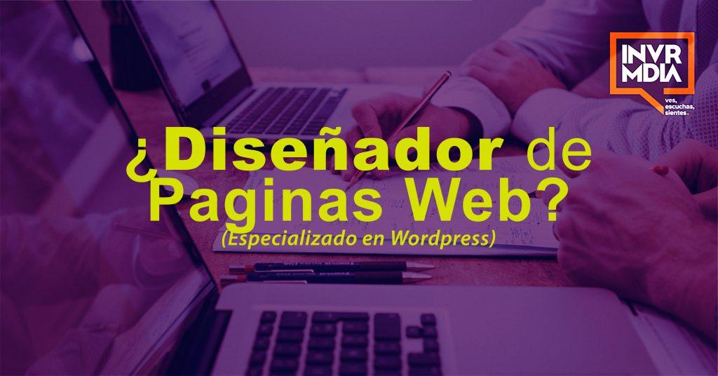 Buscamos un Diseñador Web