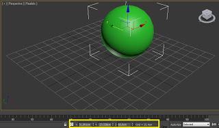 Cuadro de coordenadas del objeto.