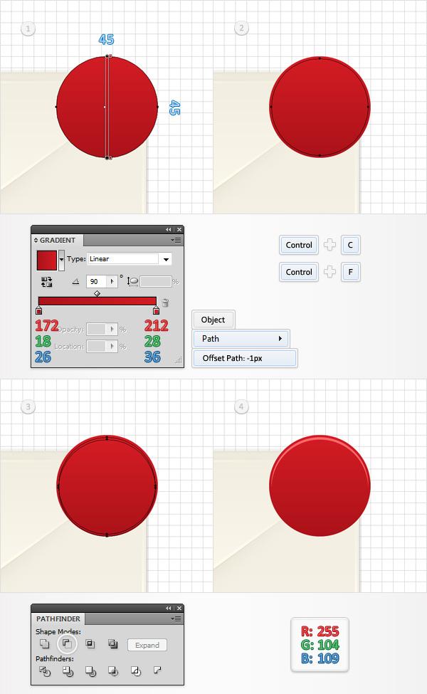 Cómo crear un Icono de alerta en Adobe Illustrator