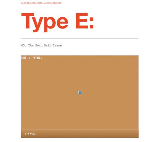 Tipografía HTML dentro del correo electrónico