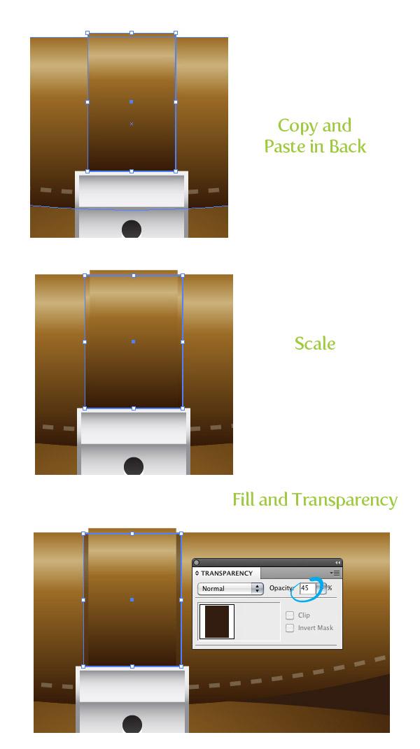Icono de maletín con Adobe Illustrator