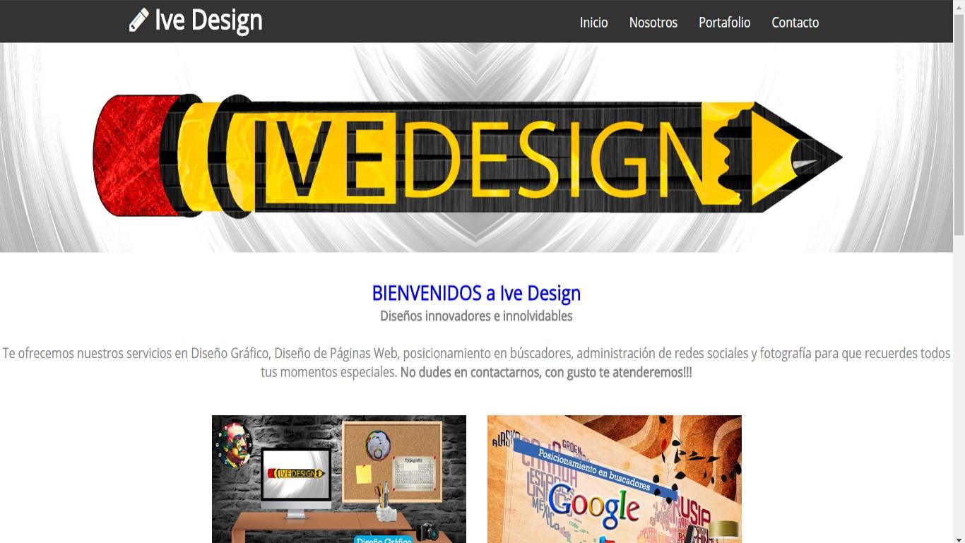 Ive Design Página Web Responsive