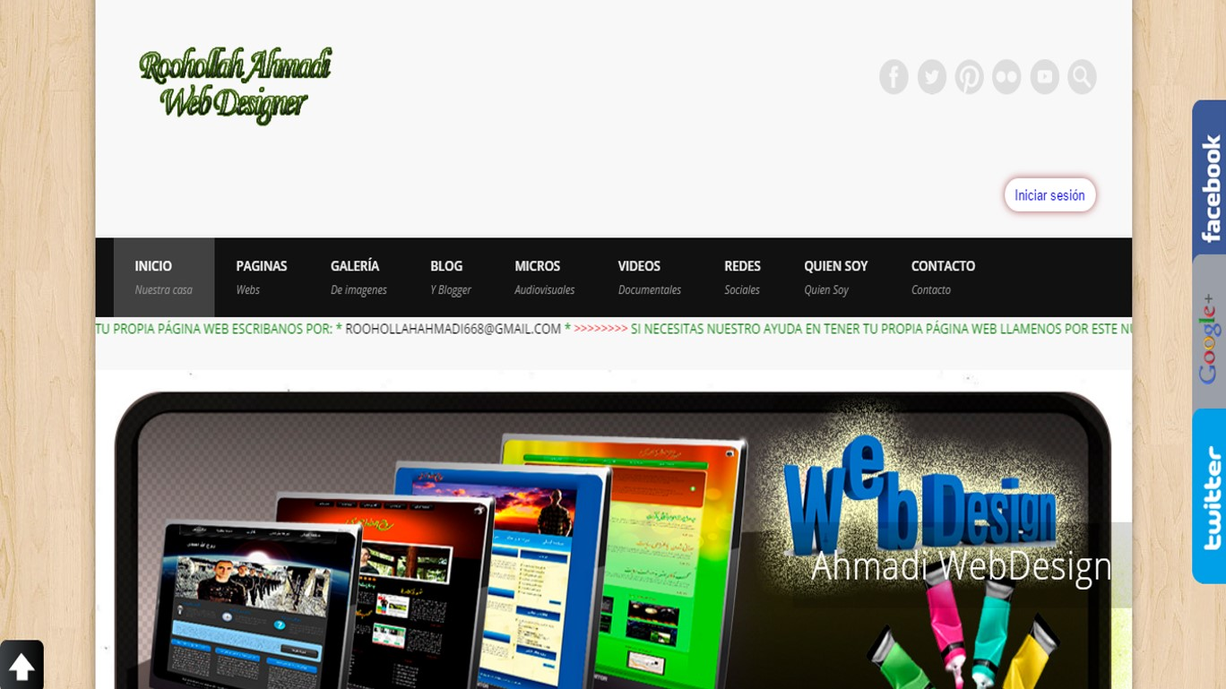 Ahmadi Web Design
