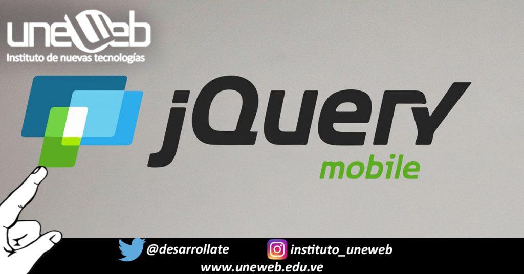Primeros pasos utilizando jQuery Mobile