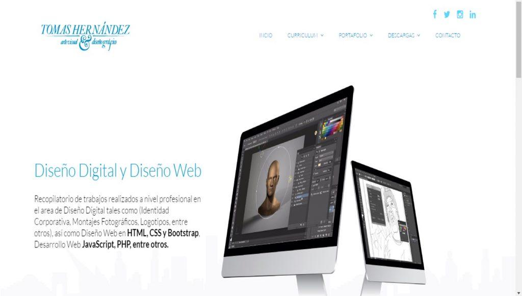 Portal Web informativo por Tomas Hernández