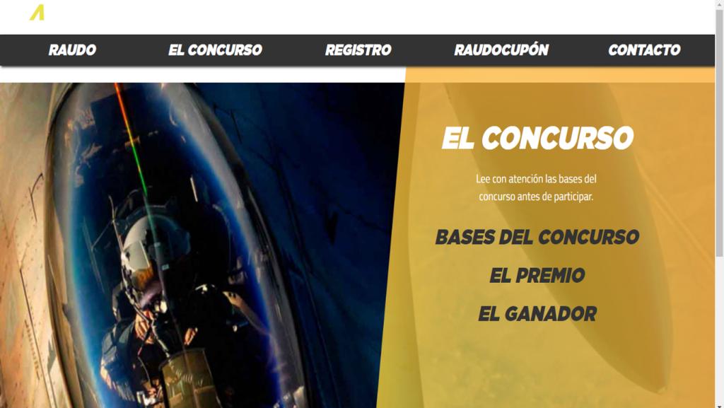 Proyecto: concurso electrónico de la empresa Raudo